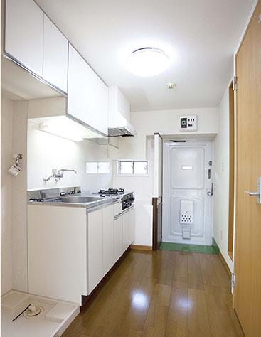 改装後の台所